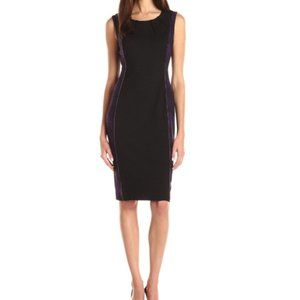 NWT Anne Klein  Reptile Jacquard Sheath Dress